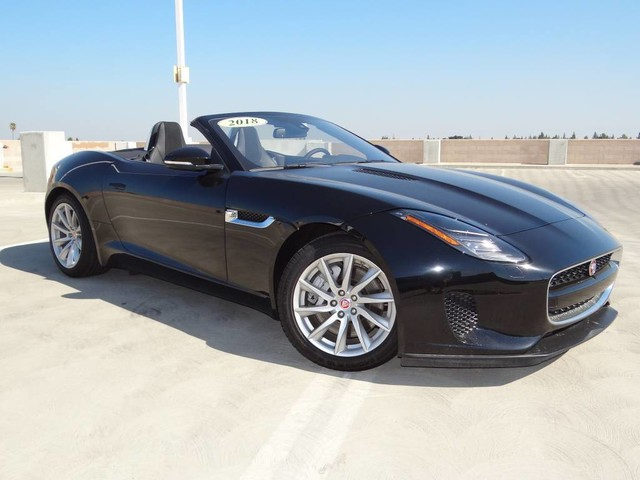 New 2018 Jaguar F TYPE 340hp Convertible Auto V6