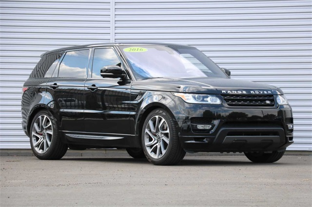 Certified Pre-Owned 2016 Land Rover Range Rover Sport 5.0L V8 Supercharged Autobiography