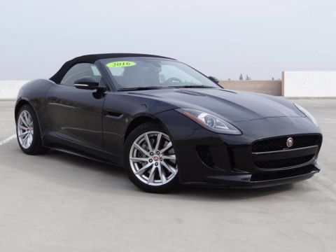 Certified Pre-Owned 2016 Jaguar F-TYPE Convertible 2d