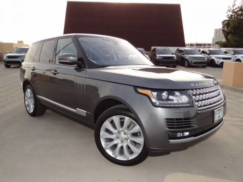 Certified Pre-Owned 2017 Land Rover Range Rover V8 Supercharged