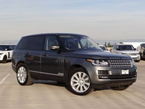 Certified Pre-Owned 2017 Land Rover Range Rover V8 S/C