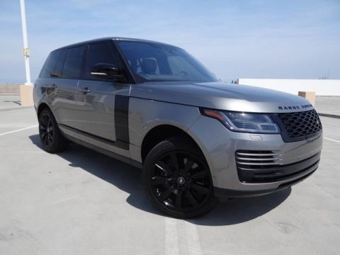 Certified Pre-Owned 2018 Land Rover Range Rover